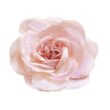 "Millinery Flower - Scallop Blossom Rose - Dusty Pink (3.5"")"