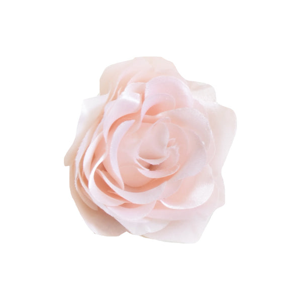 "Millinery Flower - Pointy Blossom Rose - Light Pink (3.5"")"