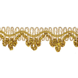"0.6"" Chandelier Metallic Trim - Gold"