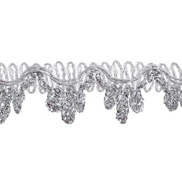 "0.6"" Chandelier Metallic Trim - Silver"