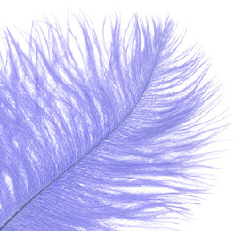 "Ostrich Drab Feathers - Lilac (3""-6"")"