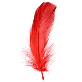 Goose Nagorie Loose Feathers - Red (6g)