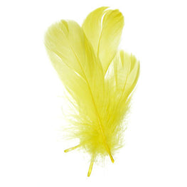 Goose Nagorie Loose Feathers - Yellow (6g)