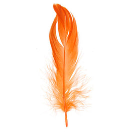 Goose Nagorie Loose Feathers - Orange (6g)