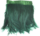 "Rooster Tail Feather Trim - Green (8""-10"")"