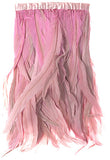 Rooster Tail Feather Trim - Pink