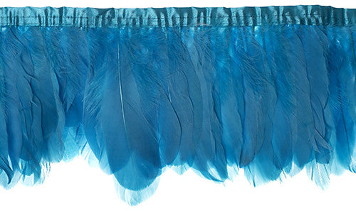 Goose Nagorie Feather Trim - Turquoise (5