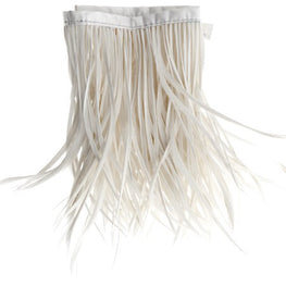 22in Biot Feather Trim - White
