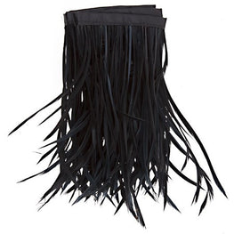 22in Biot Feather Trim - Black