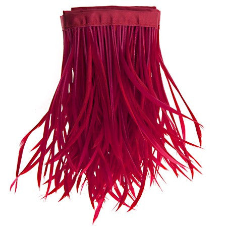 22in Biot Feather Trim - Red