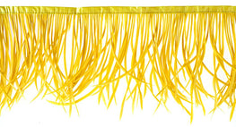 22in Biot Feather Trim - Yellow