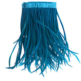 22in Biot Feather Trim - Turquoise