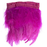 "Marabou Fluffy Feather Trim - Pink (6""-7"")"
