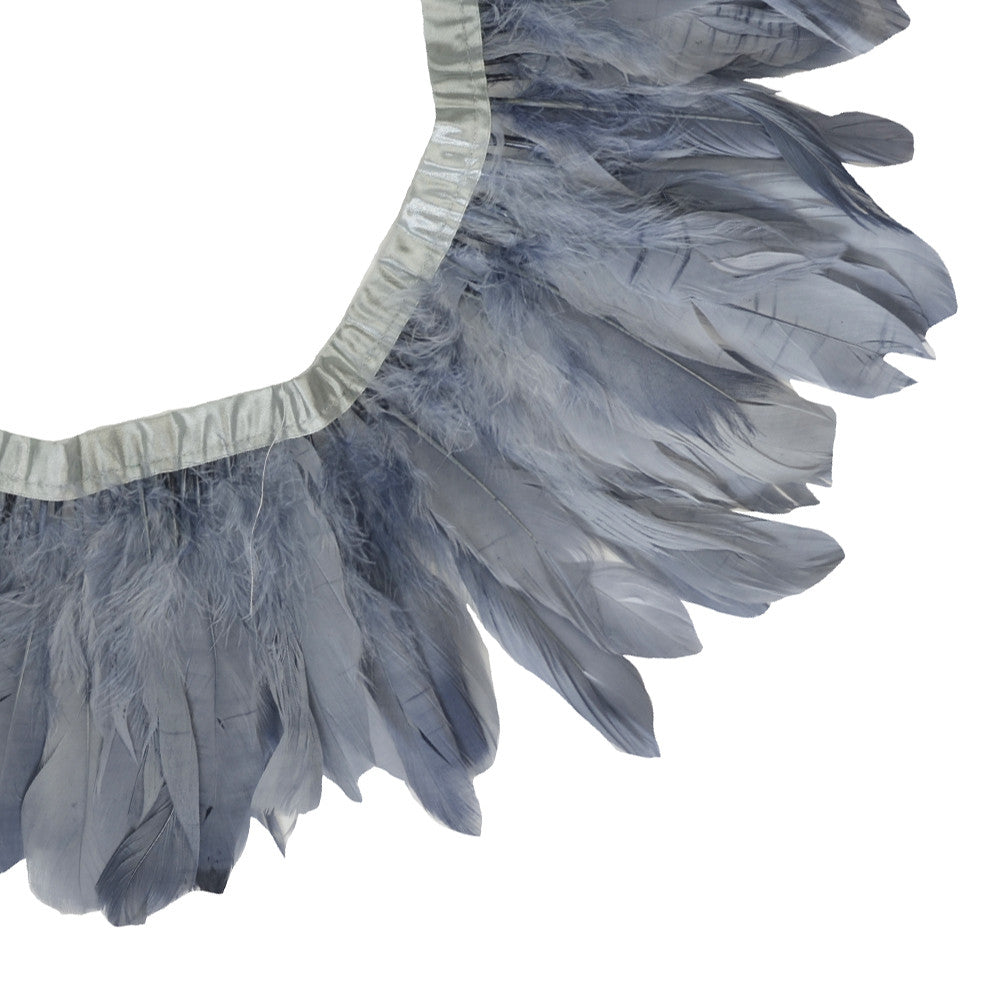 Feather Trim - Goose Feather Satinette Fringe Trims (1 yard)