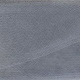 "Crinoline - Crin / Horsehair Braid - Grey (3"")"