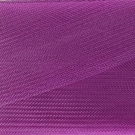 "Crinoline - Crin / Horsehair Braid - Poppy Purple (3"")"