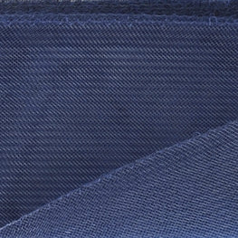"Crinoline - Crin / Horsehair Braid - Navy Blue (2.5"")"