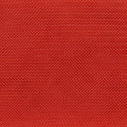 "Crinoline - Crin / Horsehair Braid - Red (2.5"")"
