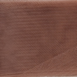 "Crinoline - Crin / Horsehair Braid - Brown (2.5"")"