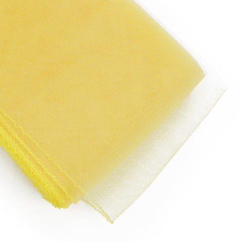 "Crinoline - Crin / Horsehair Braid - Canary Yellow (6"")"