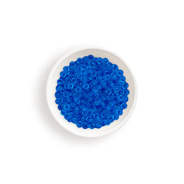 20g Miyuki® Japanese Round Rocailles Glass Seed Beads - Sapphire Transparent - 11/0 (#0150)