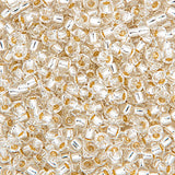 20g Miyuki® Round Rocailles - Japanese Seed Beads - Crystal Silver Lined - 6/0, 8/0, 11/0, 15/0 (#0001)