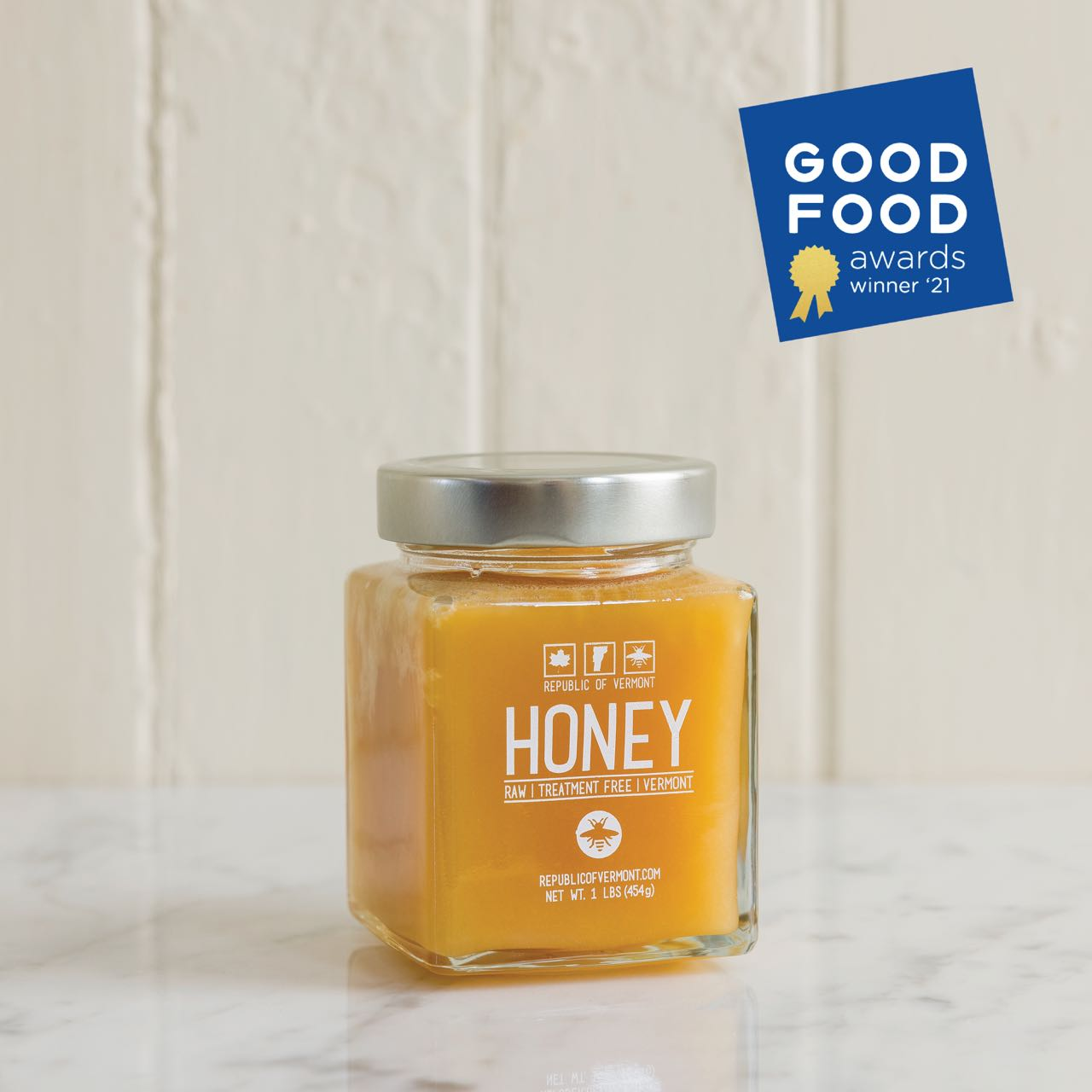 Vermont Raw Honey - 1 lb