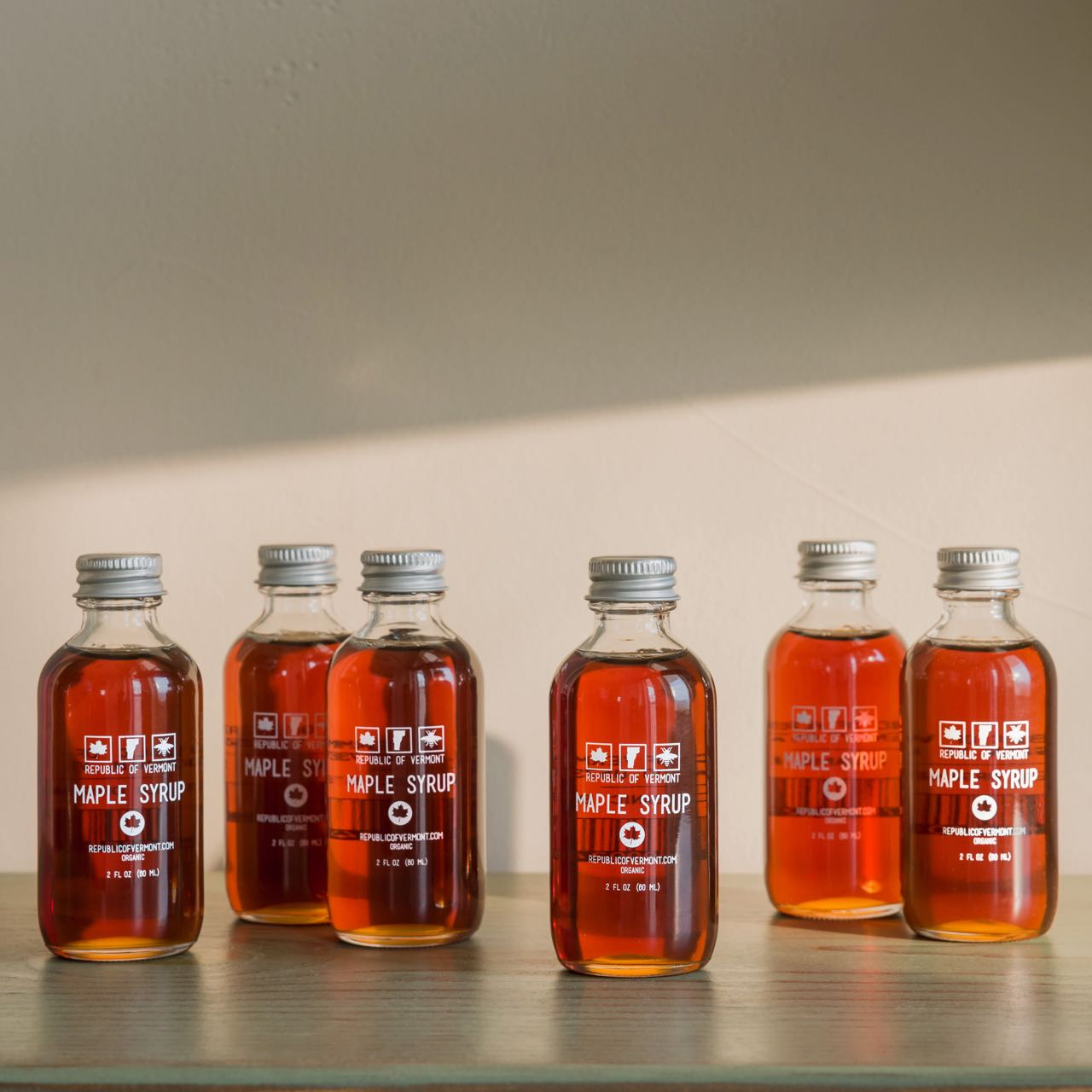 Vermont Maple Syrup - Six 2 Oz Bottles