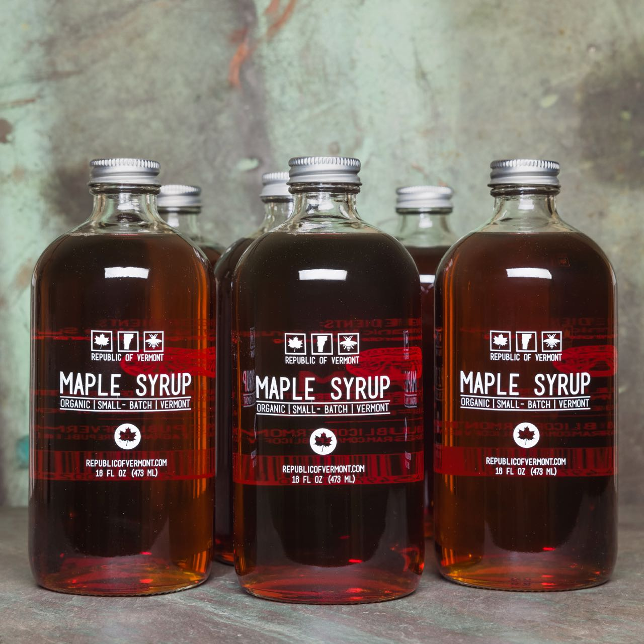 Organic Vermont Maple Syrup - 6 Bottles