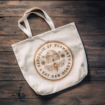 Eat Raw Honey Tote Bag