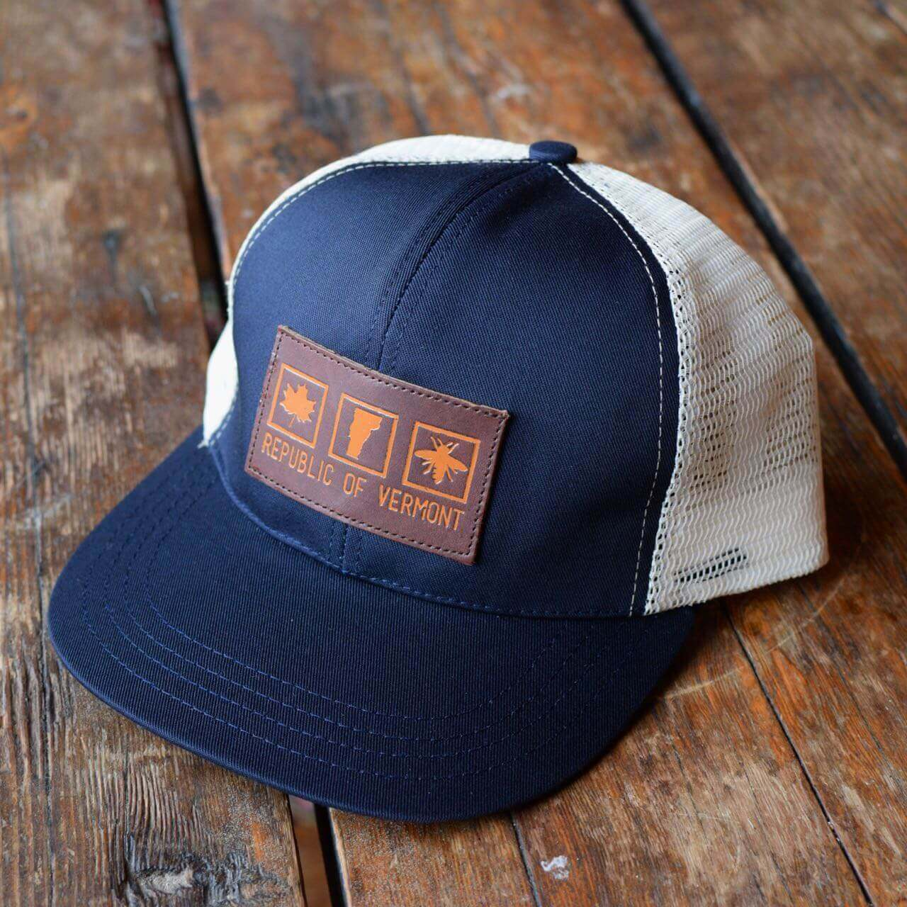 Republic Of Vermont Trucker Hat