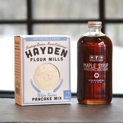 Maple Syrup Pancake Set