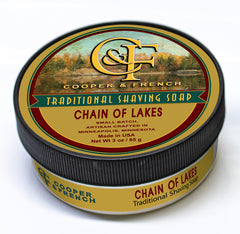 Chain of Lakes Shaving Soap by Cooper & French