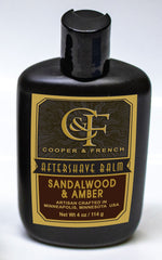 Sandalwood & Amber Aftershave Balm, Cooper and French