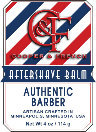 Authentic Barber Aftershave Balm