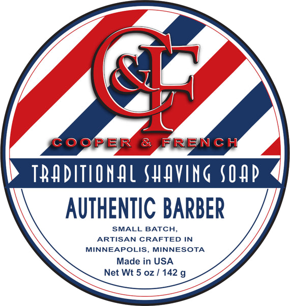 Authentic Barber Shaving Soap