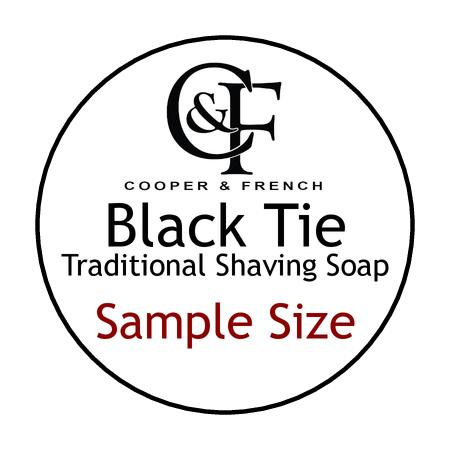 Black Tie Shaving Soap - Cooper & French