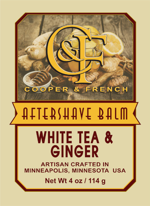 White Tea & Ginger Aftershave Balm