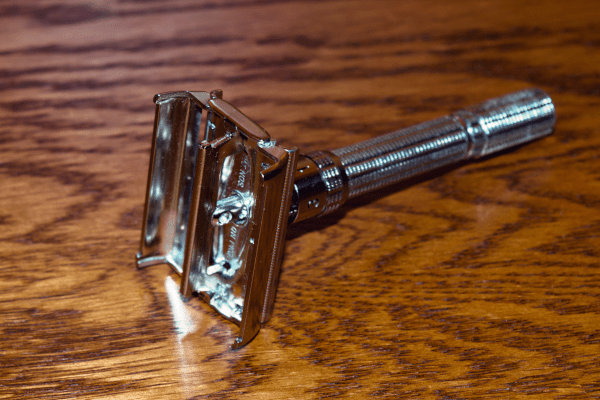 1964 Gillette Slim Adjustable Safety Razor + Free Shaving Soap