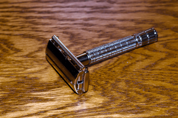 1958 Gillette Super Speed Flair Tip Safety Razor + Free Shaving Soap