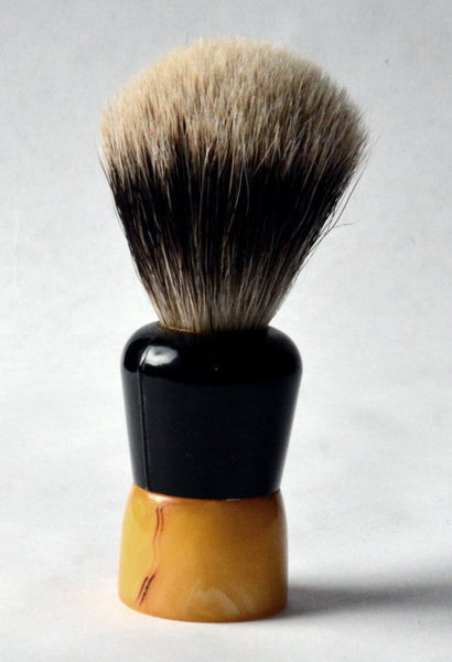 Restored Vintage Rubberset #203 Shaving Brush (Silvertip Badger)