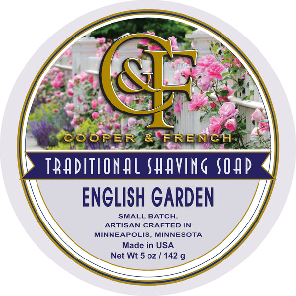 English Garden Shaving Soap