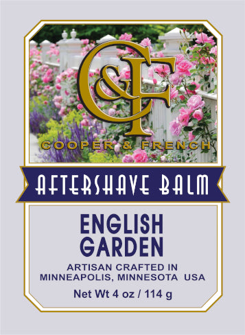 English Garden Aftershave Balm