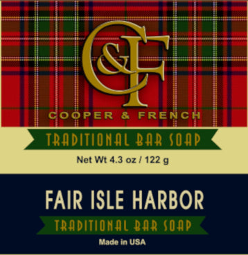 Fair Isle Harbor Bar Soap