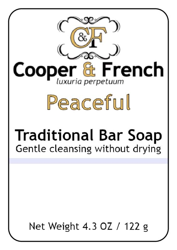Peaceful Bar Soap - Cooper & French