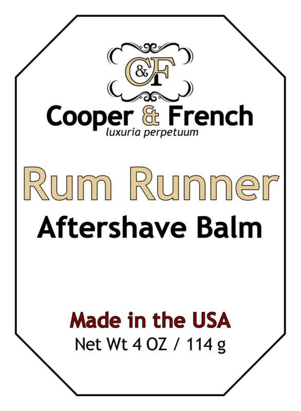 Rum Runner Aftershave Balm
