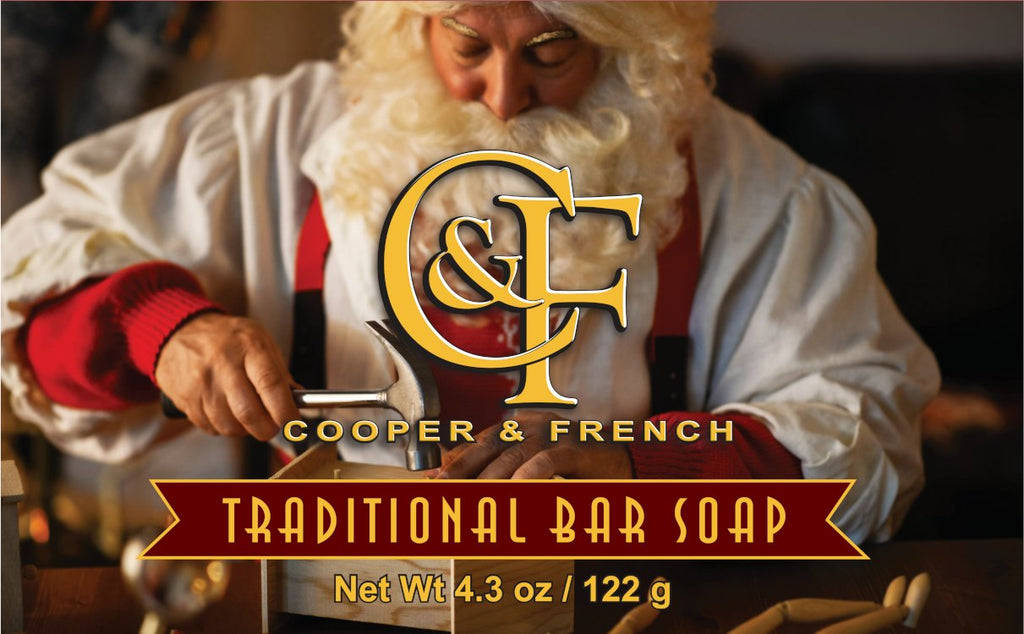 Cooper & French Santa's Workshop Traditional Bar Soap