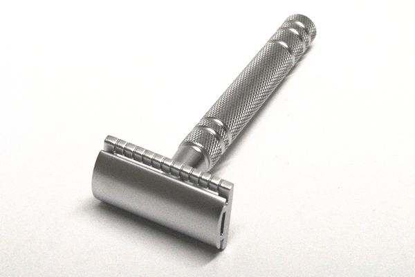 CF01 Silver Classic Double Edge Safety Razor
