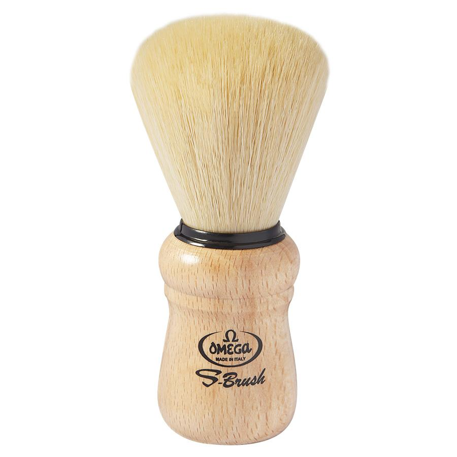 Omega S-Brush Synthetic Shaving Brush