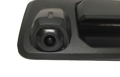 Toyota Tundra Black Tailgate Handle with Backup Camera  2014+ - Master Tailgaters
